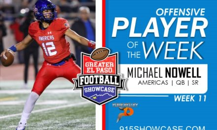 Offensive Player of the Week – Wk11