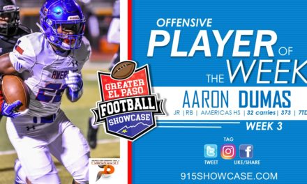 Offensive Players of the Week – 2019