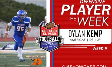 Defensive Players of The Week 2019