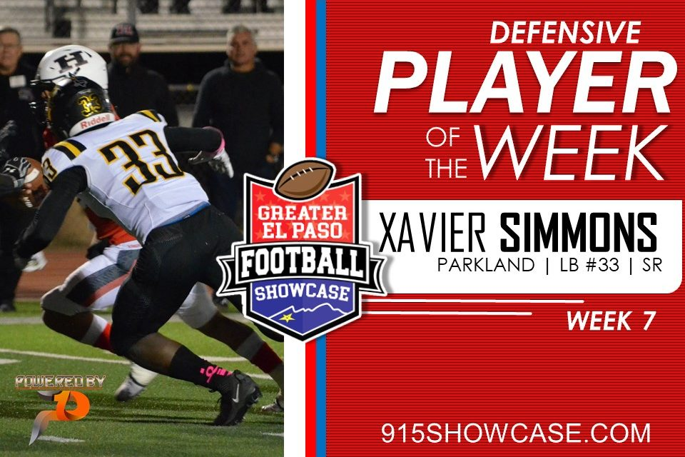 Defensive Player of The Week – W7