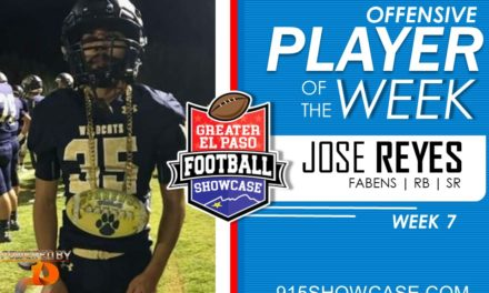 Offensive Player of the Week – W7