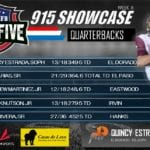 Top 5 – QUARTERBACKS 2020