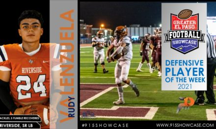 Defensive Player's of the week   2021