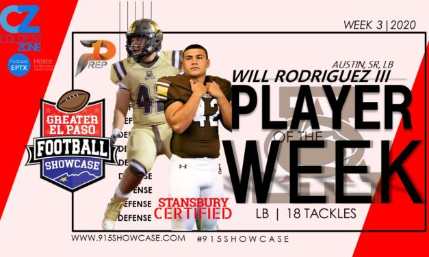 defensive player of the week